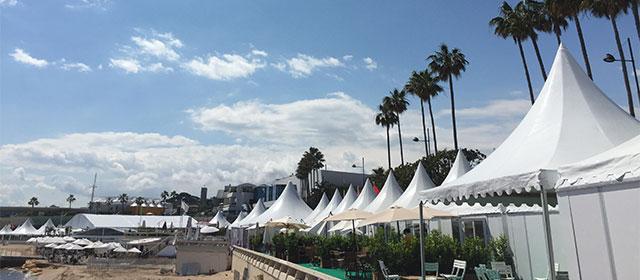 La météo est clémente aujourd'hui à Cannes !
