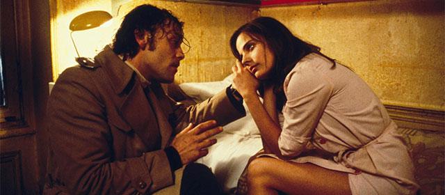 Patrick Dewaere et Marie Trintignant dans Série Noire (1979)