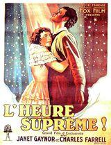 Affiche de L'Heure suprême (1927)