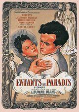 Affiche des Enfants du Paradis (1945)