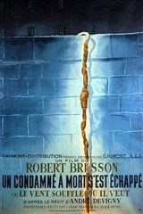 Affiche d'Un condamné à mort s'est échappé (1956)