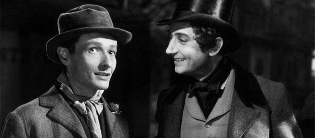 Jean-Louis Barrault et Pierre Brasseur dans Les Enfants du Paradis (1945)