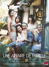 Affiche d'Une affaire de famille (2018)