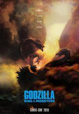 Affiche provisoire de Godzilla II : Roi des monstres (2019)
