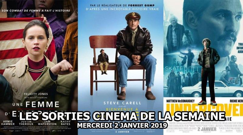 Les sorties cinéma du 2 janvier 2019