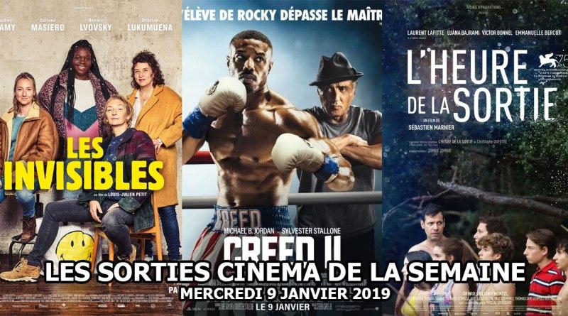 Les sorties cinéma de la semaine - 9 janvier 2019