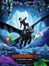 Affiche de Dragons 3 : Le Monde Caché (2019)
