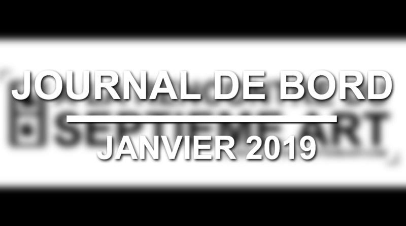 Journal de bord : Janvier 2019)