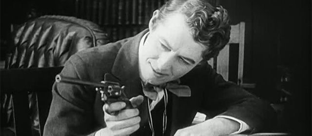 Henry B. Walthall dans La Conscience Vengeresse (1914)