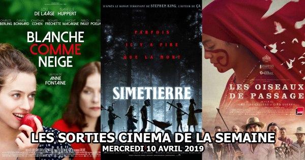 Les sorties cinéma de la semaine - mercredi 10 avril 2019