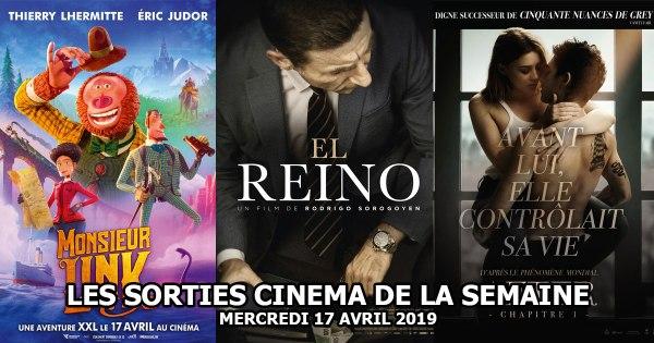 Les sorties cinéma de la semaine - mercredi 17 avril 2019
