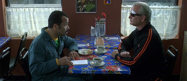 Jeffrey Wright et Bill Murray dans Broken Flowers (2005)