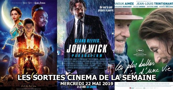 Les sorties cinéma de la semaine - mercredi 22 mai 2019