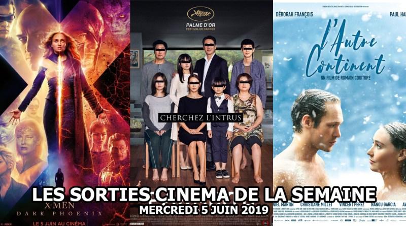 Les sorties cinéma de la semaine - mercredi 5 juin 2019
