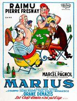 Affiche de Marius (1931)
