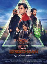 Affiche de Spider-Man Far From Home (2019)