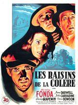 Affiche de Les Raisins de la colère (1940)