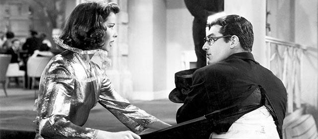Katharine Hepburn et Cary Grant dans L'Impossible Monsieur Bébé (1938)
