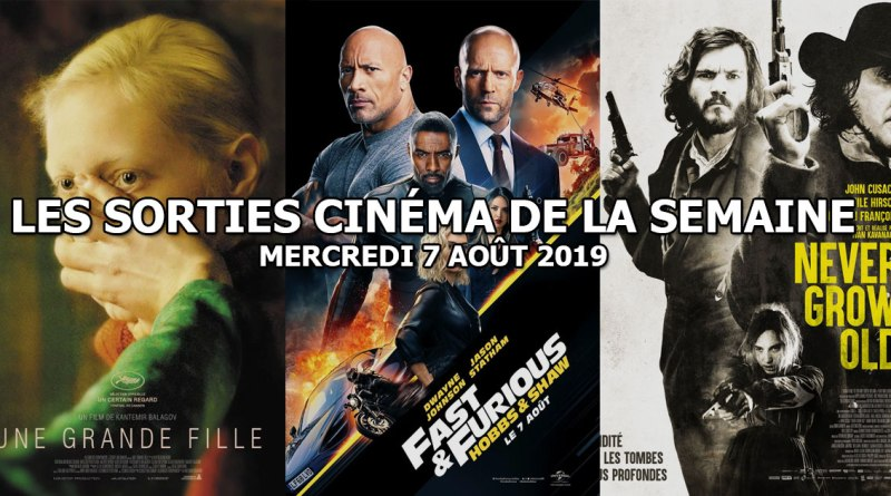 Les sorties cinéma de la semaine - mercredi 7 août 2019