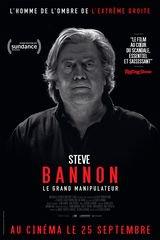 Affiche de Steve Bannon - Le Grand Manipulateur (2019)
