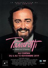Affiche de Pavarotti (2019)