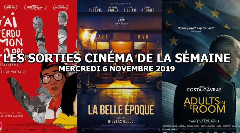 Les sorties cinéma de la semaine - mercredi 6 novembre 2019