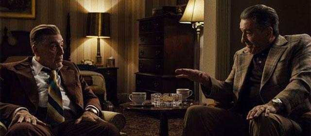 Al Pacino et Robert de Niro dans The Irishman (2019)