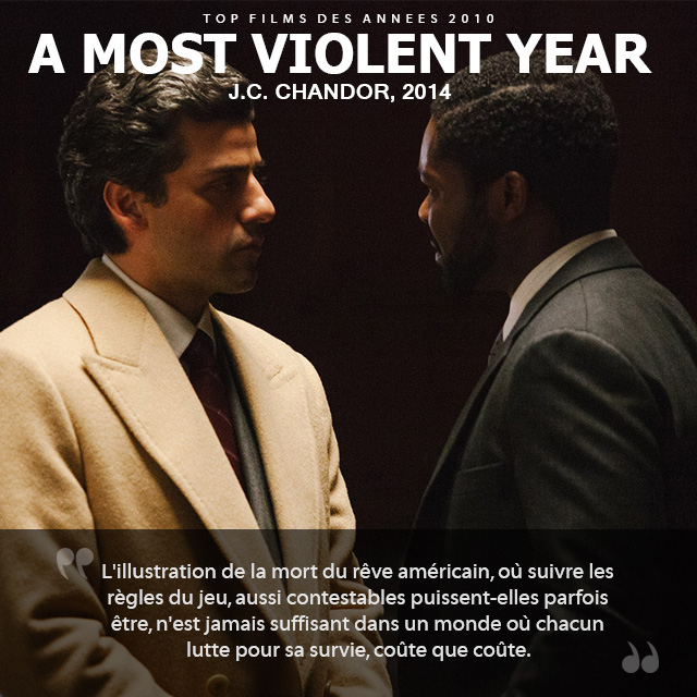 Top des années 2010 - A Most Violent Year