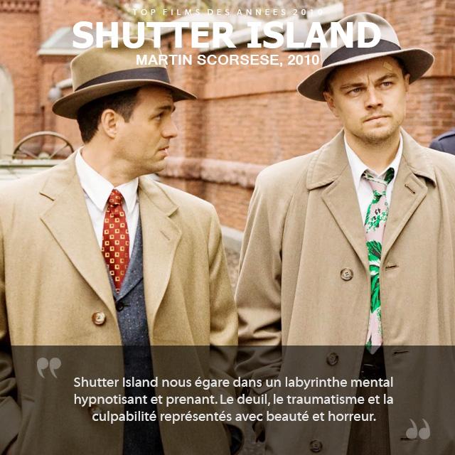 Top des années 2010 - Shutter Island