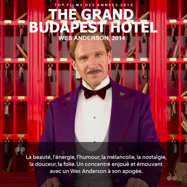 Top des années 2010 - The Grand Budapest Hotel