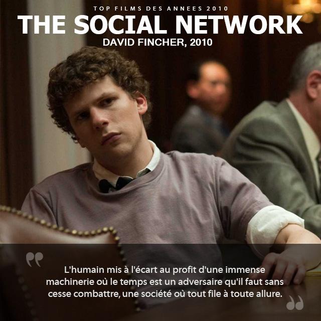 Top des années 2010 - The Social Network