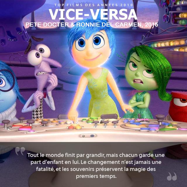 Top des années 2010 - Vice-Versa