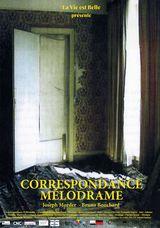 Affiche de Correspondance Mélodrame (2020)