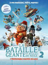 Affiche de La Bataille géante de boules de neige 2 : L'Incroyable Course de luge (2020)