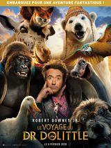 Affiche de Le Voyage du Docteur Dolittle (2020)