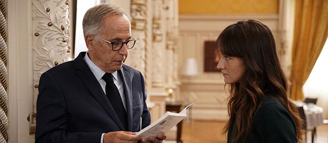 Fabrice Luchin et Anaïs Demoustier dans Alice et le maire (2019)