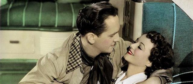 Fredric March et Janet Gaynor dans Une étoile est née (1937)