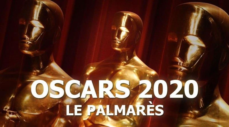 Oscars 2020 - Le palmarès
