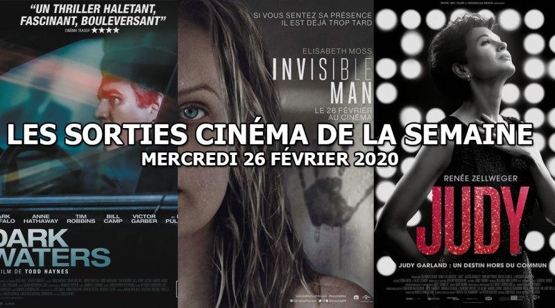 Les sorties cinéma de la semaine - mercredi 26 février 2020