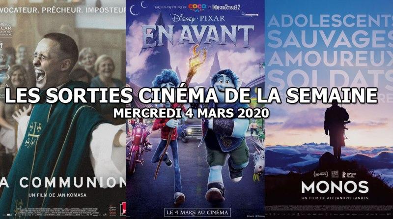 Les sorties cinéma de la semaine - mercredi 4 mars 2020