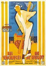 Affiche de Les Vacances de M. Hulot (1953)
