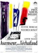 Affiche d'Ascenseur pour l'échafaud (1958)