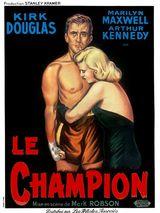 Affiche de Le Champion (1949)