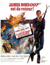 Affiche d'Au service secret de Sa Majesté (1969)