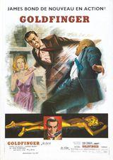 Affiche de Goldfinger (1964)