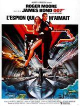 Affiche de L'Espion qui m'aimait (1977)