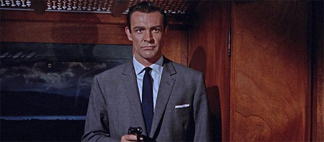 Sean Connery dans Bons baisers de Russie (1963)