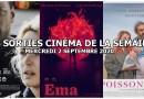 Les sorties cinéma de la semaine - mercredi 2 septembre 2020