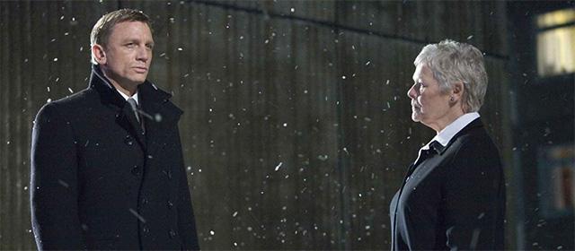 Daniel Craig et Judi Dench dans Quantum of Solace (2008)