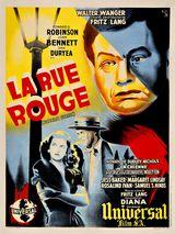 Affiche de La Rue Rouge (1945)